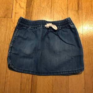 Baby Gap Jean Skirt Baby Girl